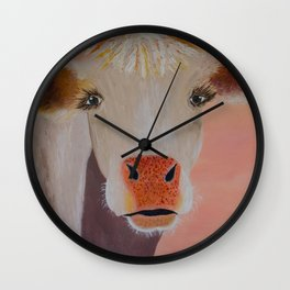 Rosealinda Wall Clock