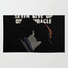 The X-Files - Never Give Up On A Miracle Rug
