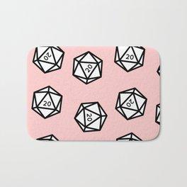 Pink Crit Bath Mat