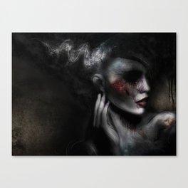Bride of Frankenstein Canvas Print