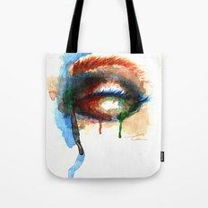 Watercolor Eye Tote Bag