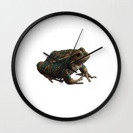 Frog 6 Wall Clock