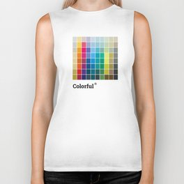 Colorful Soul - All colors together Biker Tank