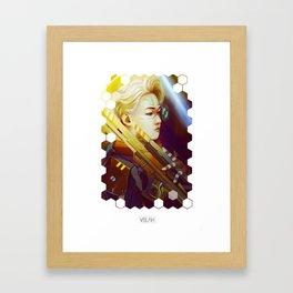 Light Future Framed Art Print