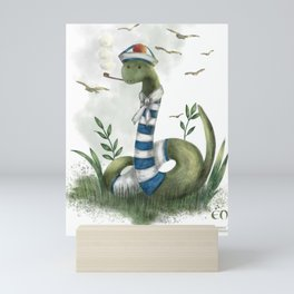 the marin snake Mini Art Print