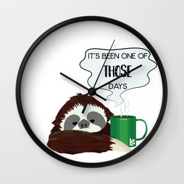 Pia - It's been one of those days... Wall Clock