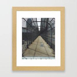 Walkway Framed Art Print