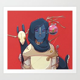 Hunter Gather Art Print