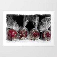 Toffee Apples Art Print