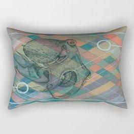 Geometric Octopus Rectangular Pillow