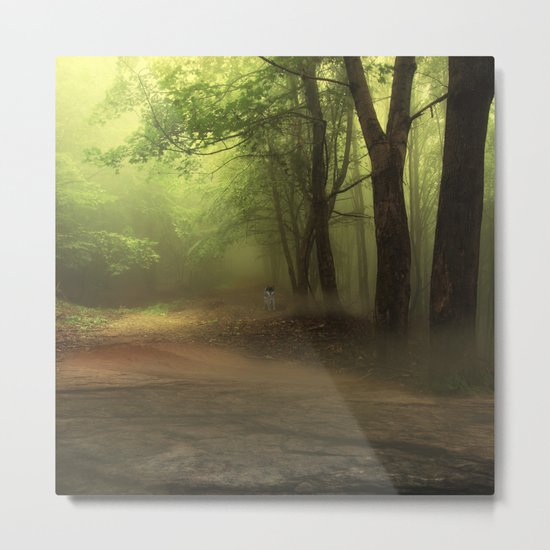 Mystical Forest (3) Metal Print