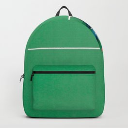 Tennis court green Backpack
