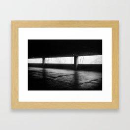 The Second Floor Framed Art Print
