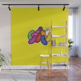 Happy Jelly Beans! (Yellow) Wall Mural