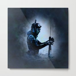 The Water Bearer Metal Print