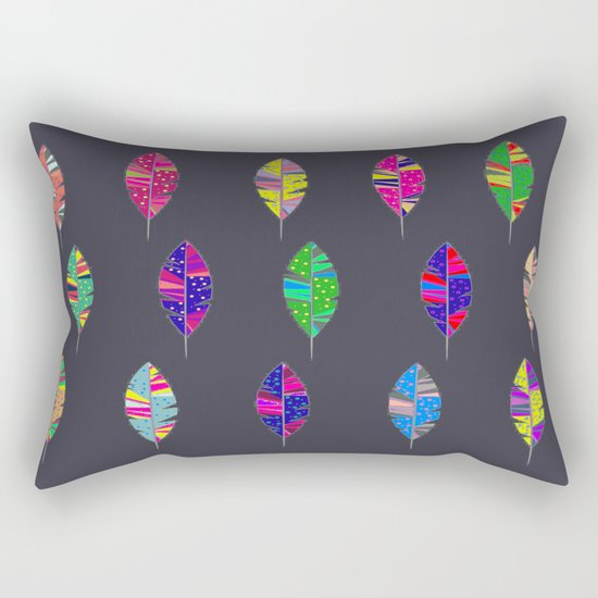 Leaves only one Rectangular Pillow