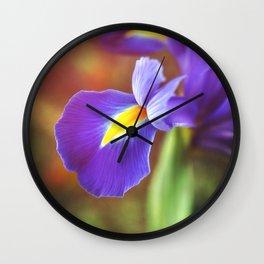 Spring Royalty Wall Clock