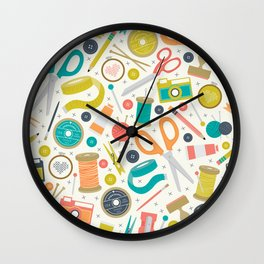 Get Crafty Wall Clock