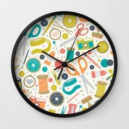 Get Crafty Wall Clock
