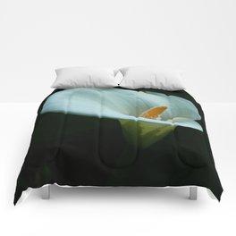 White Calla Lily Comforters
