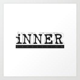 INNER EXPRESSION Art Print