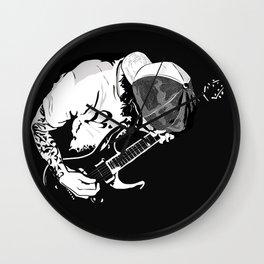 ·the guitarist Wall Clock