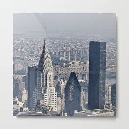 Chrysler Building New York Metal Print