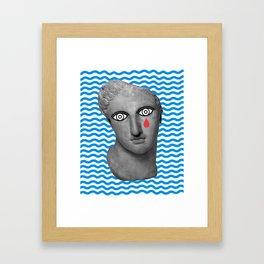 Tear Framed Art Print