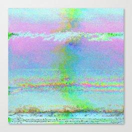 08-24-89 (Digital Drawing Glitch) Canvas Print