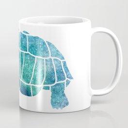 Sulcata Tortoise Silhouette (sparkles) Coffee Mug