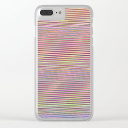 Lullaby: 3am Anxiety Mix Clear iPhone Case