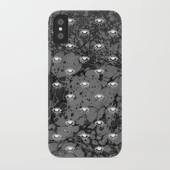 RUNNING UP THAT HILL iPhone Case