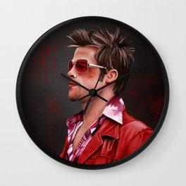 Tyler Durden Wall Clock