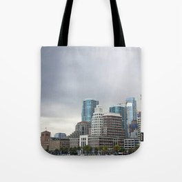 Downtown San Francisco, Changing Skyline Tote Bag