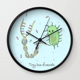 Tiny Box of Secrets Wall Clock