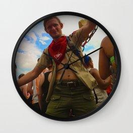Bonnaroovian Dancing Man Wall Clock