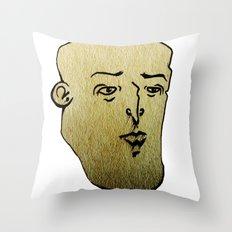 F A C E 3 Throw Pillow