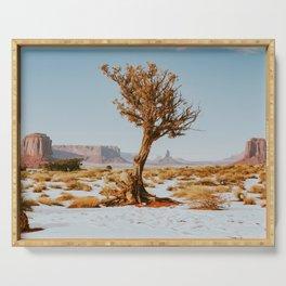 Monument Valley Juniper Serving Tray