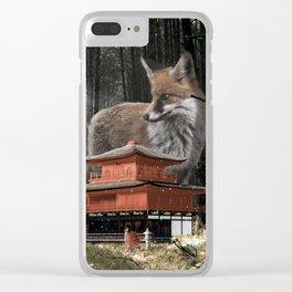 Japan Dream Clear iPhone Case