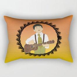 Ukulele musician Rectangular Pillow