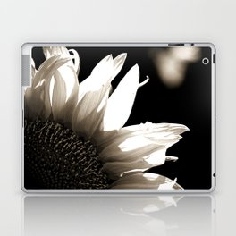 Sunflower-B&W Laptop & iPad Skin