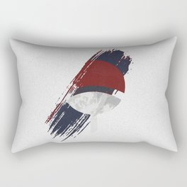 Uchiha Clan Patch Rectangular Pillow
