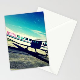 leaving on a jet plane Stationery Cards