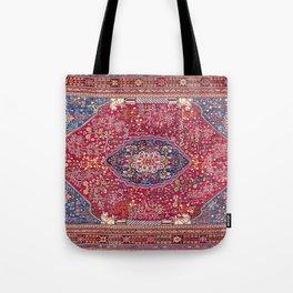 Qashqa'i  Antique Fars Persian Rug Tote Bag
