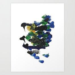 Neil Sky Art Print
