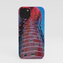 Torre Fira bcn iPhone Case