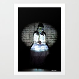 I let my brother go to the devil in his own way Art Print