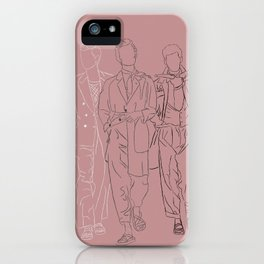 The three musketeers #1 iPhone Case