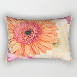 Sweet Daisy Sorbet Rectangular Pillow