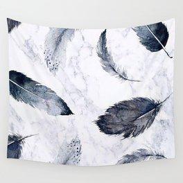 plumas fondo Wall Tapestry